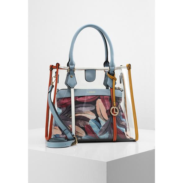 L.Credi Kurzgriff Tasche Emeline multicolour