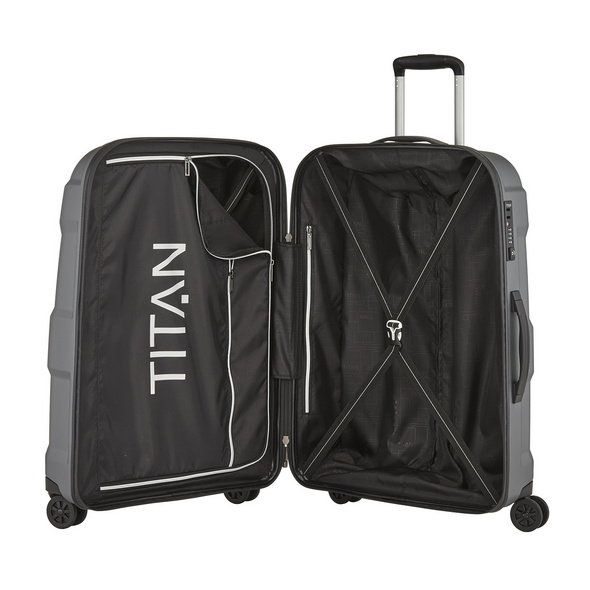 Titan Reisetrolley X2 L 76cm Gun Metal Shark