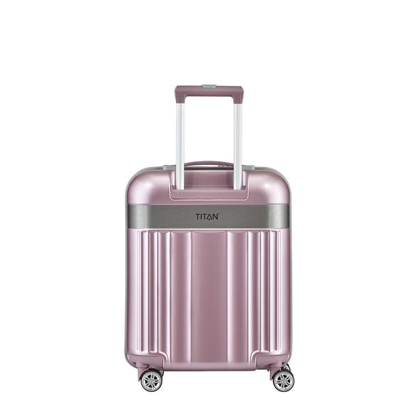 Titan Reisetrolley 55cm Spotlight Flash 4w S pink milkshake
