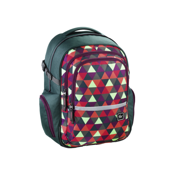all out Schulrucksack Filby happy triangle