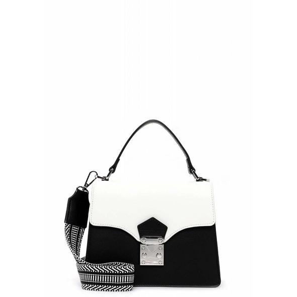 Emily & Noah Kurzgriff Tasche Elsa black/white