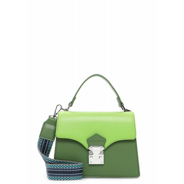Emily & Noah Kurzgriff Tasche Elsa green