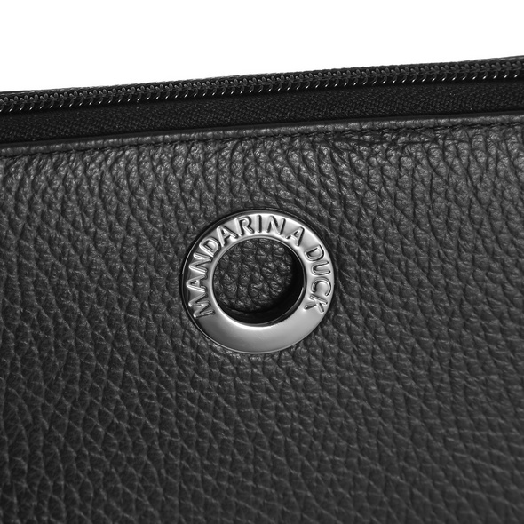 Mandarina Duck Portmonee Damen Mellow Leather schwarz