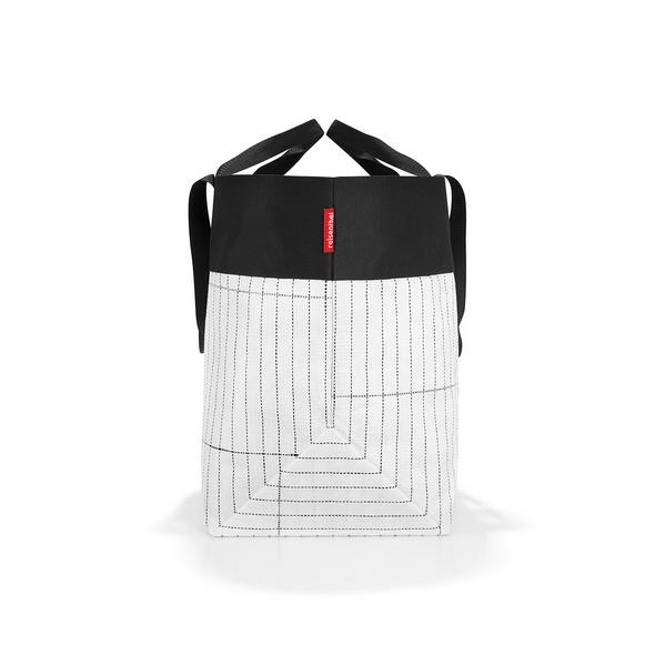 reisenthel Einkaufsshopper Urban Bag Tokyo 50l schwarz/weiß