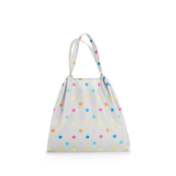 reisenthel Faltbeutel mini maxi loftbag 25l stonegrey dots