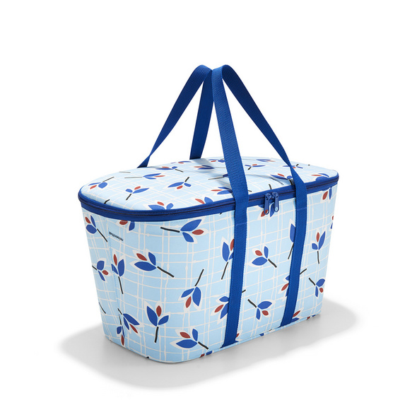 reisenthel Einkaufskorb coolerbag 20l leaves blue