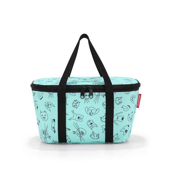 reisenthel Einkaufskorb coolerbag XS cats and dogs mint