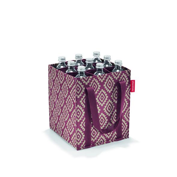 reisenthel Flaschenträger bottlebag diamonds rouge