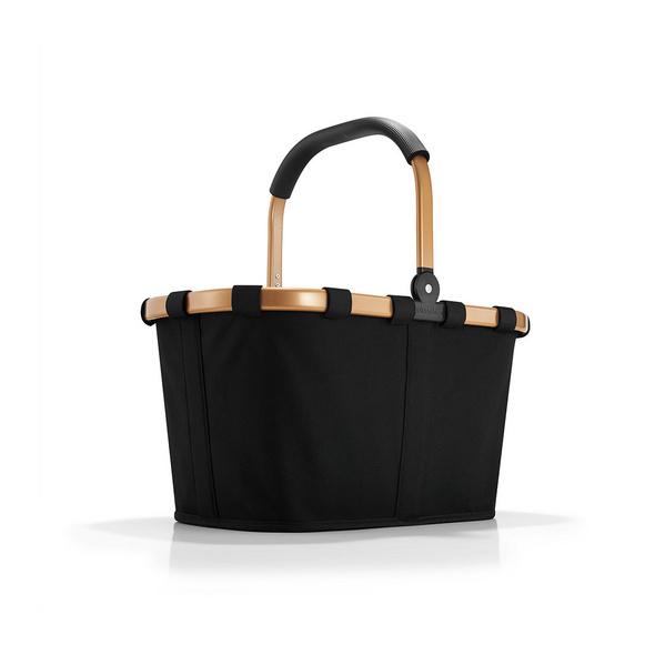 reisenthel Einkaufskorb carrybag 22l schwarz/gold