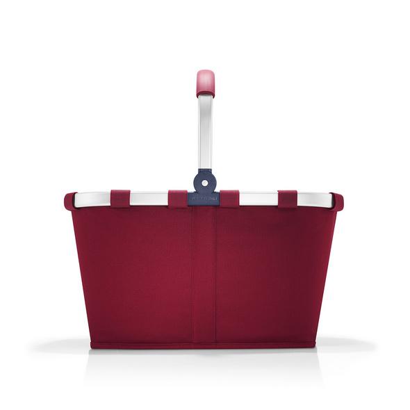 reisenthel Einkaufskorb carrybag einfarbig 22l dark ruby
