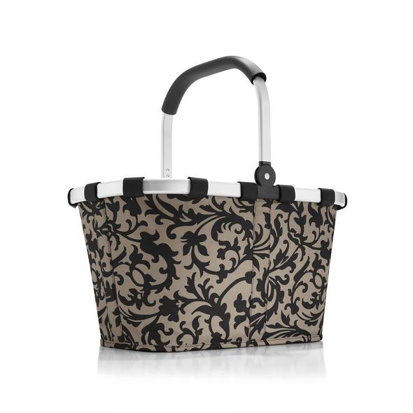 reisenthel Einkaufskorb carrybag gemustert 22l baroque taupe