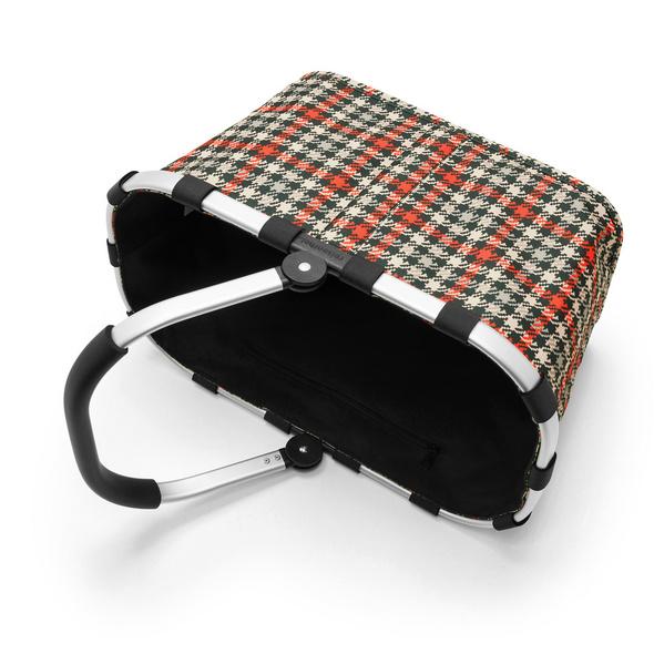 reisenthel Einkaufskorb carrybag gemustert 22l glencheck red