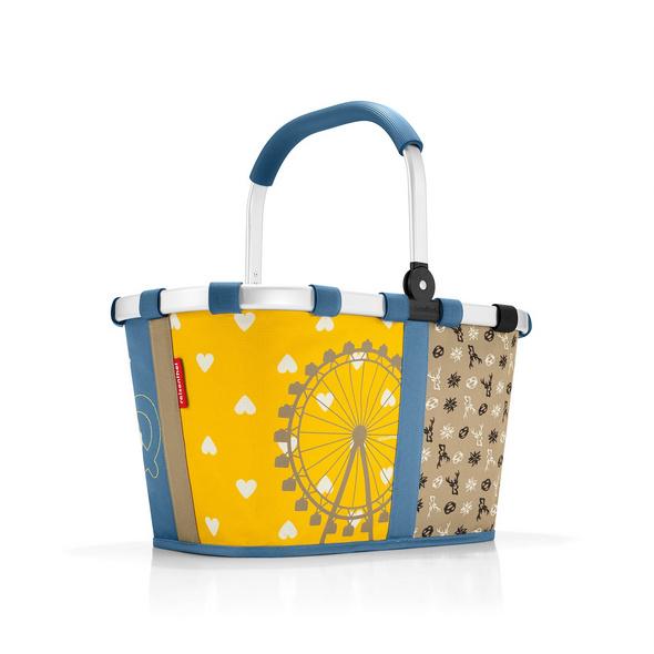 reisenthel Einkaufskorb carrybag gemustert 22l bavaria 2