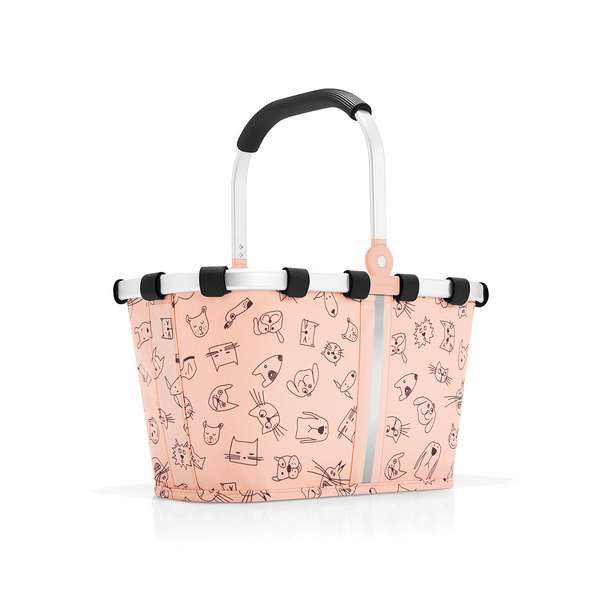 reisenthel Einkaufskorb Carrybag XS 5l cats and dogs rose