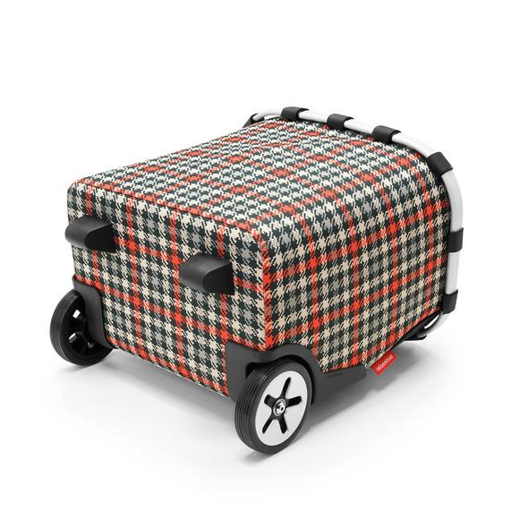 reisenthel Einkaufstrolley carrycruiser 40l glencheck red