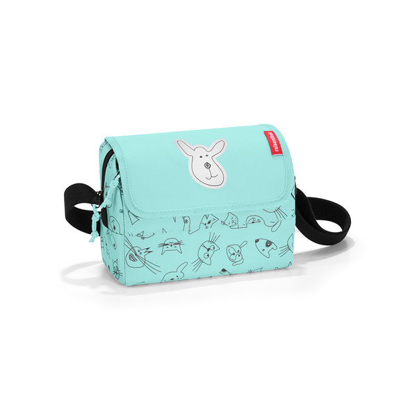 reisenthel Umhängetasche everyday bag kids cats and dogs mint