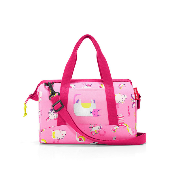 reisenthel Reisetasche allrounder XS kids abc friends pink