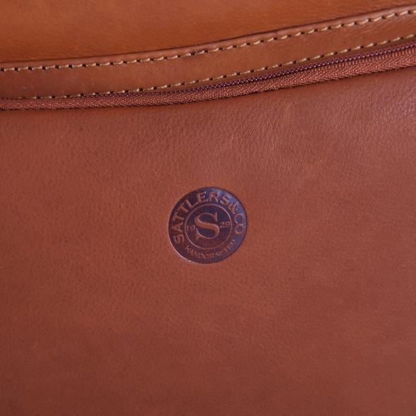 "Sattlers & Co. Laptop Rucksack The Barn Mondeo 15"" tan"