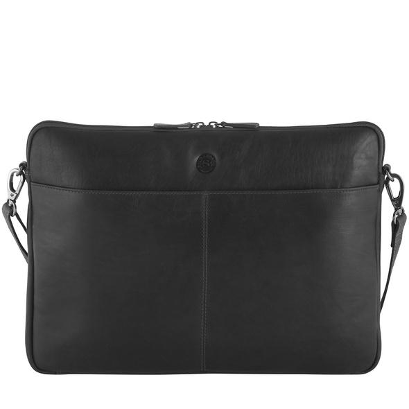 "Sattlers & Co Laptoptasche The Barn Mick XL 17,4"" black"