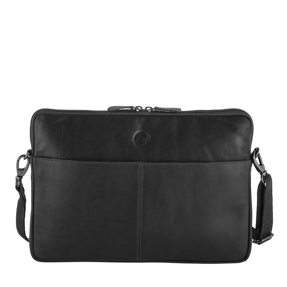 "Sattlers & Co. Laptophülle The Barn Mick M 15"" black"