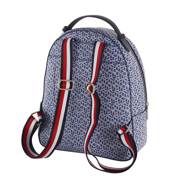 Tommy Hilfiger Damenrucksack Iconic Backpack Monogram blue