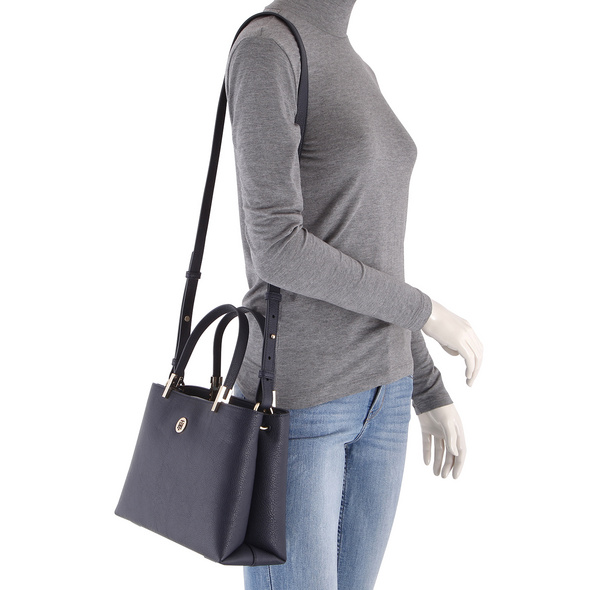 Tommy Hilfiger Kurzgrifftasche TH Core Med Satchel sky captain