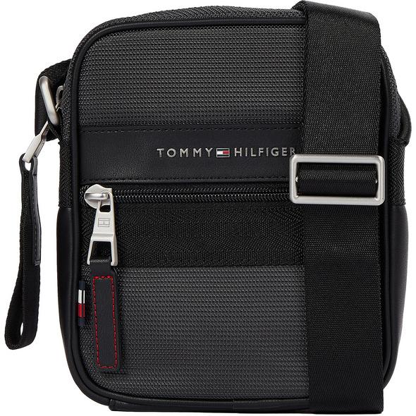 Tommy Hilfiger Umhängetasche Elevated Nylon Mini Reporter grey