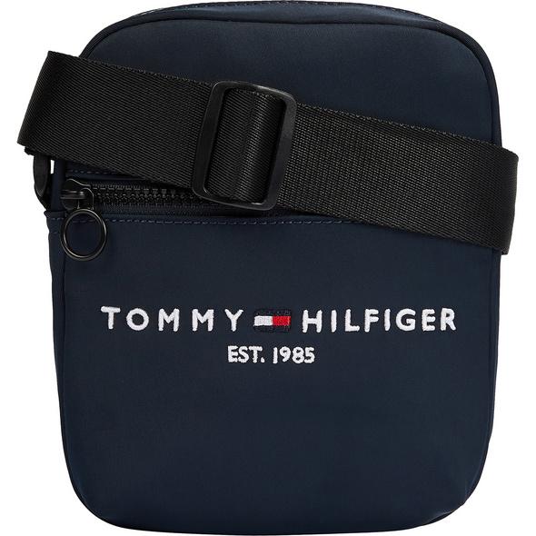 Tommy Hilfiger Umhängetasche Herren TH Established Mini Reporter blue