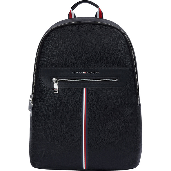 "Tommy Hilfiger Laptop Rucksack TH Downtown Backpack 18""  black"