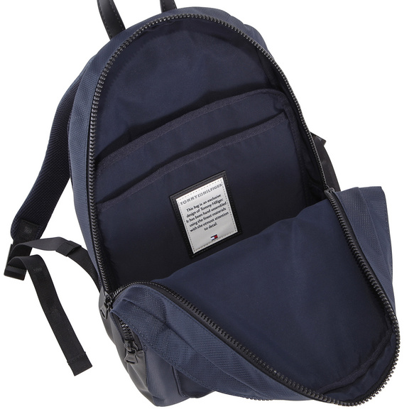 Tommy Hilfiger Rucksack Modern Nylon Backpack 16l black bds