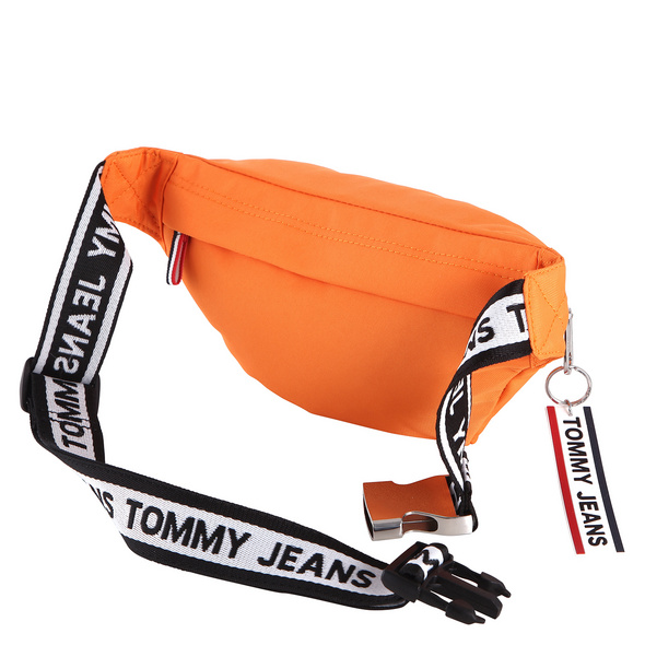 Tommy Jeans Bauchtasche Logo Tape Bumbag black iris