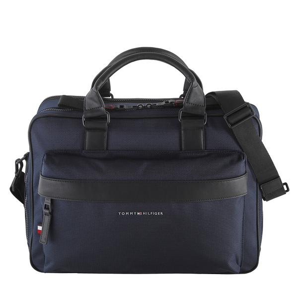 "Tommy Hilfiger Laptoptasche Elevated Nylon Workbag 14"" blue"