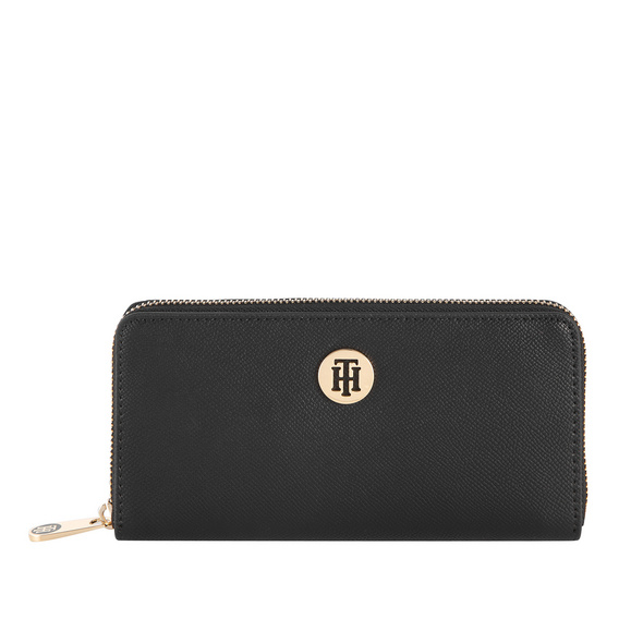 Tommy Hilfiger Querbörse Damen Honey LRG ZA black