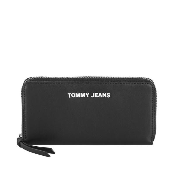 Tommy Jeans Langbörse Damen TJW Femme Large Z/A Wallet black
