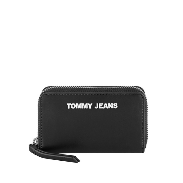 Tommy Jeans Querbörse Damen TJW PU SM ZA Wallet black