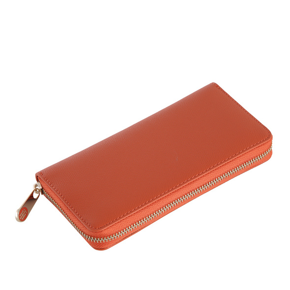 Tommy Hilfiger Langbörse Damen Honey LRG ZA Wallet orange