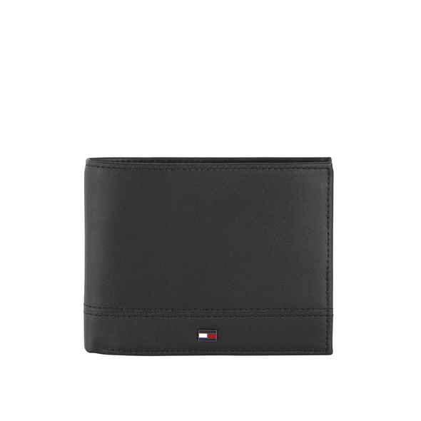 Tommy Hilfiger Querbörse Herren TH Essential Extra CC and Coin black