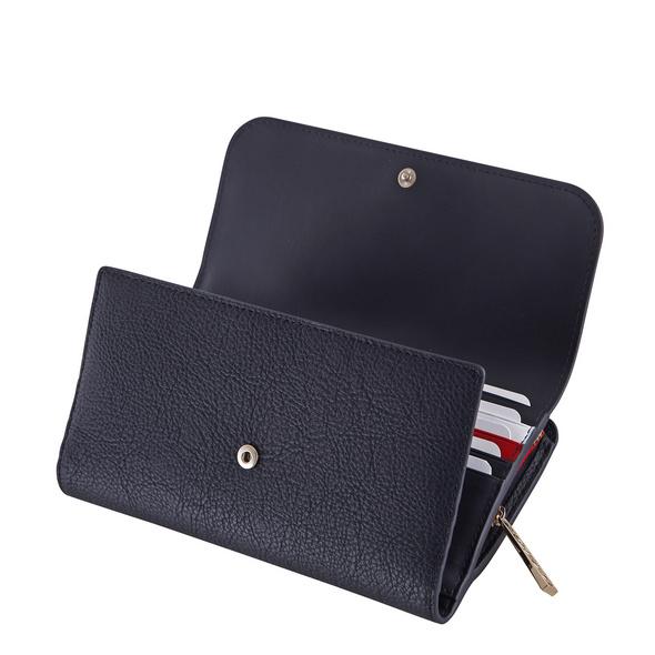 Tommy Hilfiger Querbörse Damen Core Large Flap Wallet multi