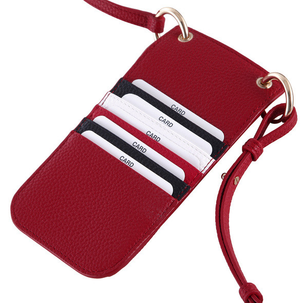 Tommy Hilfiger Handyhülle TH Essence Phone Wallet red corp
