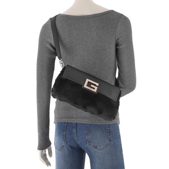 Guess Abendtasche Brightside Shoulder Bag schwarz
