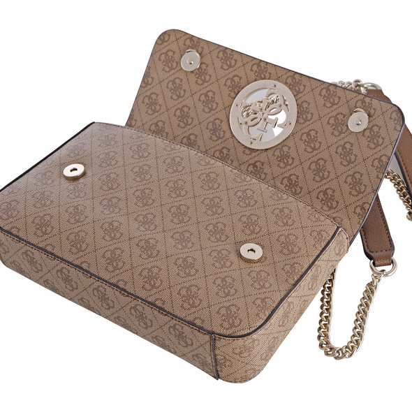 Guess Abendtasche Open Road Convertible XBody Flap brown