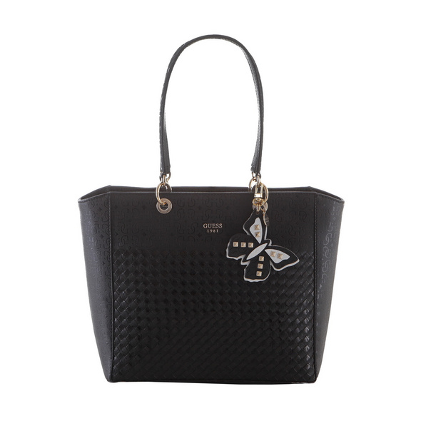 Guess Shopper Flutter schwarz