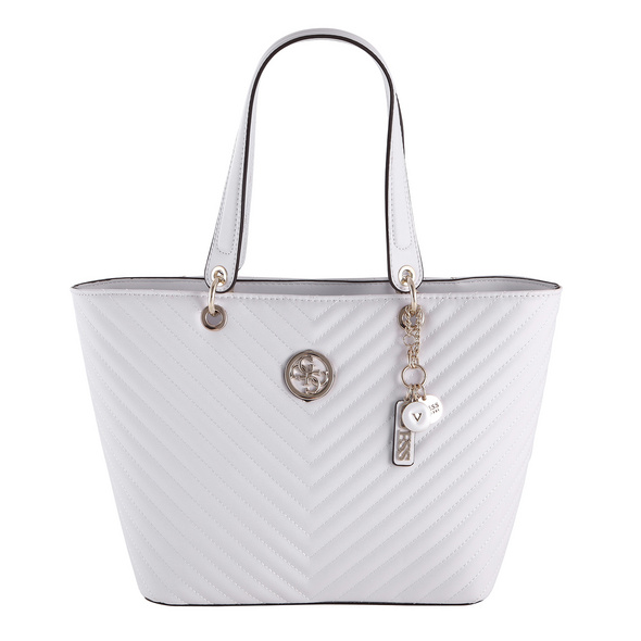 Guess Shopper Kamryn Tote weiß