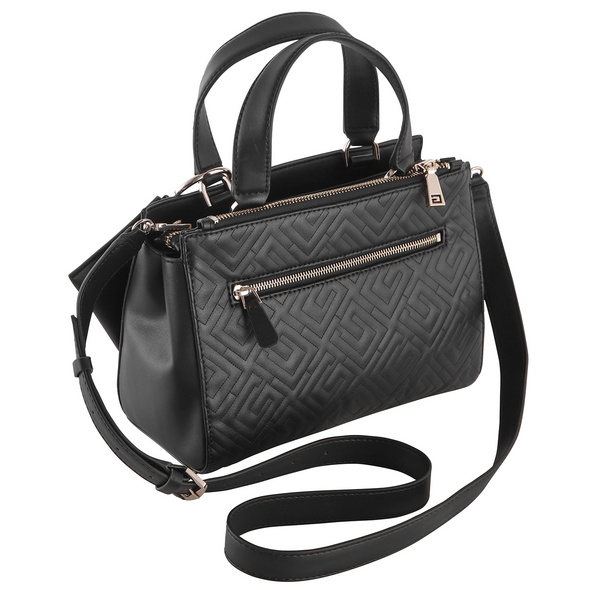 Guess Kurzgriff Tasche Janay Small Society Satchel rosewood