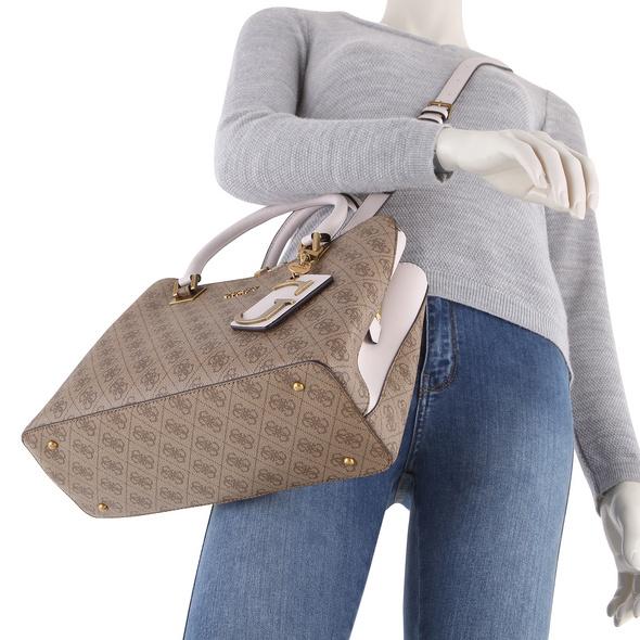 Guess Kurzgriff Tasche Mika Girlfriend Satchel blush