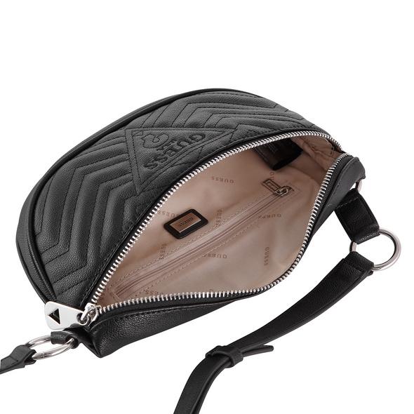Guess Bauchtasche Zanan Belt Bag schwarz