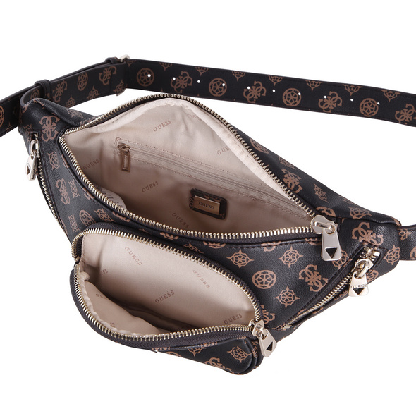 Guess Bauchtasche Utility Vibe Mini Belt Bag brown