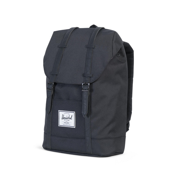 Herschel Rucksack 'Retreat' 22l black/black