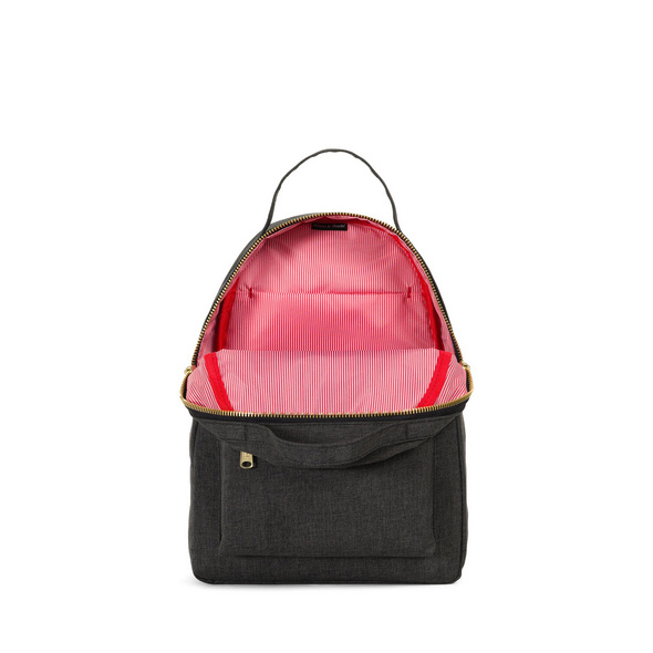 Herschel Rucksack Nova Backpack XS 17l Black Crosshatch