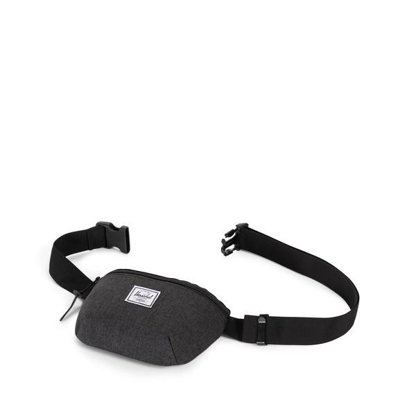 Herschel Bauchtasche Fourteen Hip Pack black crosshatch